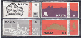 Malta 1975 - European Monument Protection Year, Mi-Nr. 514/17, MNH** - Malta