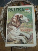 """Ancienne Revue Des Campagnes """" Rustica """" Sur La Nature Et Le Jardinage - 11 Septembre 1955 - Giardinaggio"""