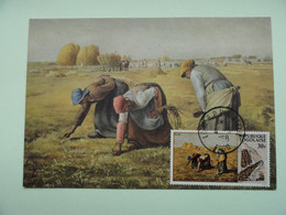 CARTE MAXIMUM CARD THE GLEANERS BY MILLET TOGO - Andere