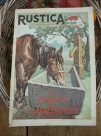 """Ancienne Revue Des Campagnes """" Rustica """" Sur La Nature Et Le Jardinage - 21 Août 1955 - Giardinaggio"""