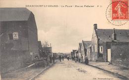 BRANCOURT LE GRAND - La Place - Rue De Prémont - Other Municipalities