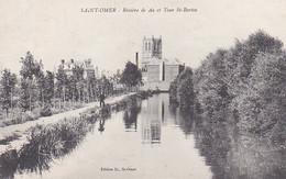 SAINT OMER RIVIERE DE AA ET TOUR SAINT BERTIN,PERSONNAGE   REF 67507 - Saint Omer