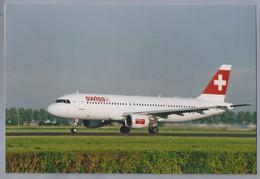 LUCHTVAART. VLIEGTUIG. AVION. - HB-IJE -. SWISS. AIRBUS A320-214 - Aviazione