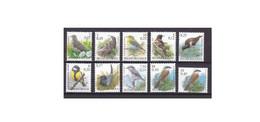 G464. Belgium / Belgique / België / 2000 - 2002 / Birds / Pajaros / Oiseaux - Sperlingsvögel & Singvögel