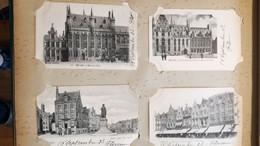 BELGIQUE LOT De 200 (207)  Cartes Anciennes De Belgique 1902 Et + (Album) TBE - 100 - 499 Postcards