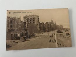 Carte Postale Ancienne (1930) BLANKENBERGHE Extension De La Digue - Blankenberge