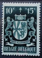N°716 V24 Point Sous EL De Belgique Mnh** - Abarten (Katalog Luppi)