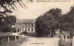 Plesder (35) - Le Château Du Pré - Morel. - Autres Communes