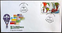 Brazil Stamp FDC 701 Selo C 2361 Jamboree Escotismo Foz Do Iguaçu 2001 - Ungebraucht
