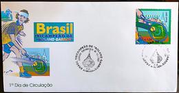 Brazil Stamp FDC 706 Selo Roland Garros Gustavo Keurten Guga Tenis 2001 - Ungebraucht