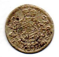 GERMAN STATES - BAVARIA, 3 Kreuzer, Silver, Year 1737, KM #179 - Kleine Munten & Andere Onderverdelingen
