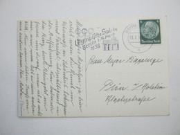 1936 , BAYREUTH - Olympiade , Klarer Stempel Auf Karte - Allemagne