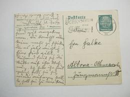 1936 , BERLIN - Deine Stimme Dem Führer, Klarer Stempel Auf Karte - Allemagne