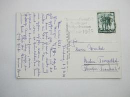 1938 , HAMBURG - Stadtparkrennen, Klarer Stempel Auf Karte - Allemagne