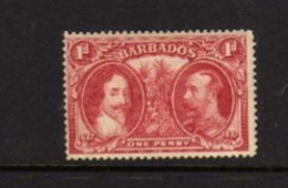 Barbades  (1927)  - Tricentenaire Du Statut Definitf De L'ile   - Neufs* - Barbados (...-1966)