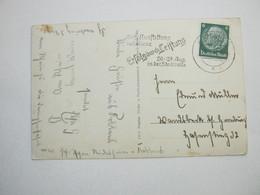 1937 , KOBLENZ - Ausstellung, Klarer Stempel Auf Karte - Allemagne