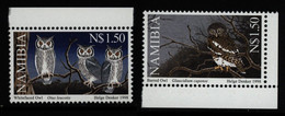Namibia 1998 **MNH Owls High Values Eulen Chouettes - Hiboux & Chouettes