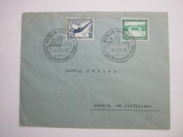 1937 , Berlin - Kolonialschau, Klarer Stempel Auf Brief - Allemagne
