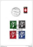 23-99 - Feuillet Avec Expo Nationale 1939 (français) Oblit Spéciale Dörfli - Postmark Collection