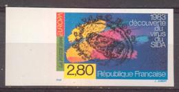 Virus Du Sida YT 2878 De 1994 Sans Trace Charnière - No Dentado