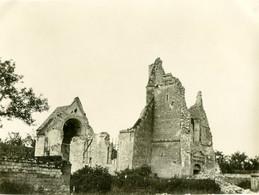 PHOTO ALLEMANDE - EGLISE DE SAINT LAURENT (BLANGY)  PRES D'ARRAS PAS DE CALAIS - GUERRE 1914 1918 - 1914-18
