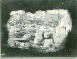 PHOTO ALLEMANDE - RUINES VUE DE L'OBSERVATOIRE A LAURENT (BLANGY)  PRES D'ARRAS PAS DE CALAIS - GUERRE 1914 1918 - 1914-18