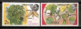 Gambia 1973 / Agriculture Cotton Cassava Roots MNH Agricultura Algodón Landwirtschaft / Fs43  30-7 - Landbouw