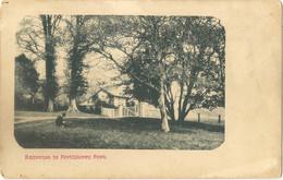 WALES GLAMORGAN BARRY  ENTRANCE TO PORTHKERRY PARK - Glamorgan