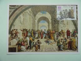 CARTE MAXIMUM CARD LA SCENE BY RAPHAEL VATICAN - Religious