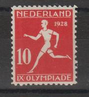 Pays Bas 1928  JO D'Amsterdam 204 Athlétisme 1 Val ** MNH - Unused Stamps