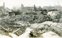PHOTO ALLEMANDE - LES RUINES DE LAURENT (BLANGY)  PRES D' ARRAS PAS DE CALAIS - GUERRE 1914 1918 - 1914-18