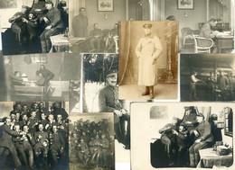 15  Photos Portraits Soldatenleben Soldats Allemande Guerre 14-18  Photo  WWI - 1914-18