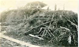 PHOTO FRANÇAISE - OBSERVATOIRE DU PRINCE EITEL A FLAVY LE MARTEL PRES DE CHAUNY - AISNE GUERRE 1914 1918 - 1914-18
