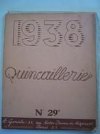 CATALOGUE DE QUINCAILLERIE. A. GONICHE 53 RUE DE NAZARETH. PARIS (3°) MATERIEL PRESENTE DANS LE DESCRIPTIF.  100_0249CL - Do-it-yourself / Technical