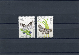 ICELAND Butterflies 2000 MNH. - Nuevos