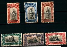 20834) SAN MARINO-Commemorativi Della Vittoria - 12 Dicembre 1918  - SERIE COMPLETA USATA - Saint-Marin