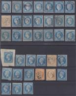 36 Timbres Période Des GC 0,10 € Le Timbre (timbre Vendu En L'état Pour Son Oblitération) - 1849-1876: Klassik