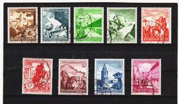 RAD546 DEUTSCHES REICH 1939  MICHL  675/83  Gestempelt SIEHE ABBILDUNG - Oblitérés