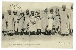 23 - Béni-Abbès - Petit Garçons De L'oasis - Circulé 1927 - Andere Städte