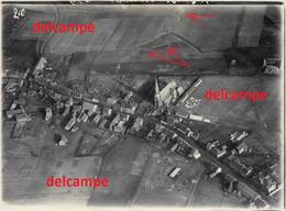 Orginal Photo Luchtfoto Van Tenbrielen Comines Warneton Messines Wijtschate 1914 1918 Photo Aérienne - 1914-18