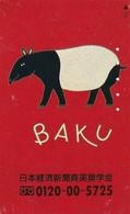 JAPAN - BAKU(110-011), Used - Japón