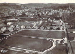 38 ISERE  Vue Panoramique Aérienne Des Stades De Football Et De Rugby De La TOUR Du PIN Et Des Cités Clerget - La Tour-du-Pin