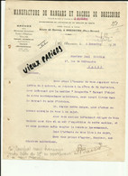 79 - Deux-sèvres - BRESSUIRE - Facture MANUFACTURE DE HANGARS ET BACHES - 1919 - REF 162B - 1900 – 1949