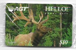 Canada AGT, Hello Phone Pass, $10 Mint Phone Card, Expired, # Canadan-3 - Canada