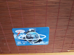 Prepaidcard Global Line 300 Units Used  Rare - Suiza