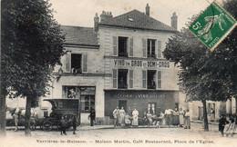 VERRIERES LE BUISSON - Maison Martin, Café Restaurant, Place De L'Eglise - Verrieres Le Buisson