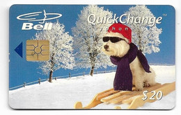 Canada Bell, $20 Used Phone Card, Mint Looking Condition, # Canada-2 - Canada