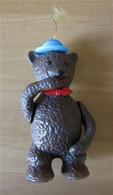 Figurine Publicitaire Ours GROSJEAN Années 70 - Publicité