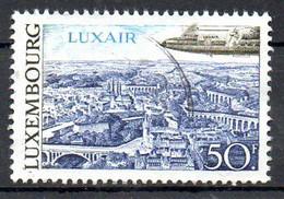 LUXEMBOURG. PA 21 De 1968 Oblitéré. Avion. - Gebraucht