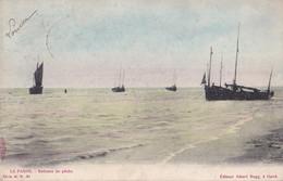 La Panne Bateaux De Pêche Ed. Albert Sugg Série 41 N° 30 Circulée En 1905 - De Panne